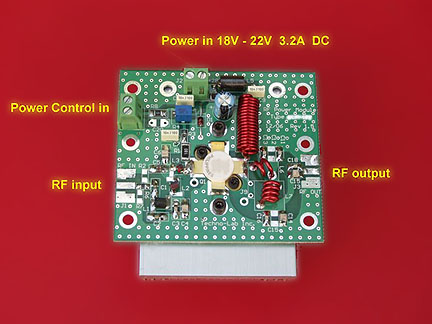 FM Amplifier Module 50 Watt and Power Control Interface